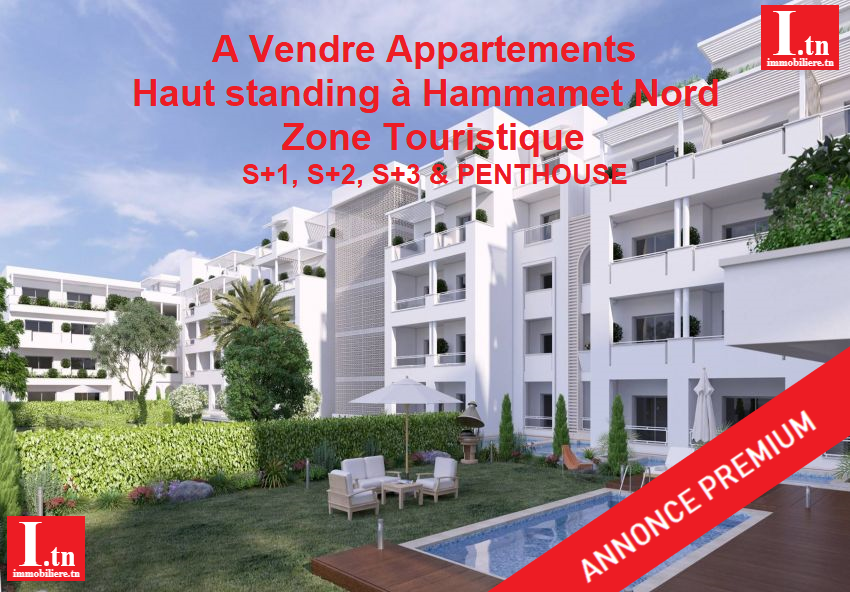 APPARTEMENT HAUT STANDING S+3 ZONE HOTEL NAHRAWES