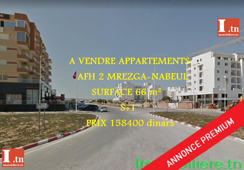Appartement AFH Mrezgua 3M256