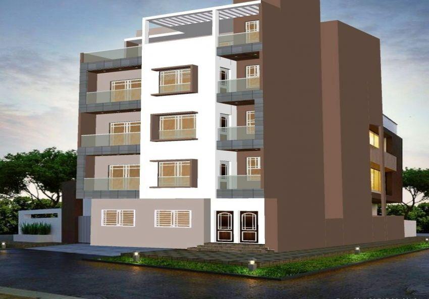Joli Immeuble RDC+ 3étages à Sahloul 4