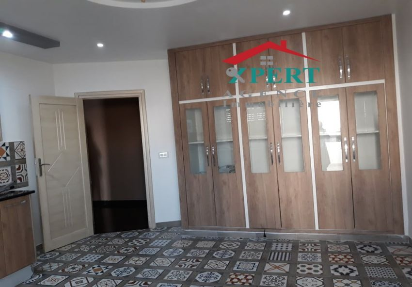 Appartement 150m², Cuisine équipée, Terrasse, Sahloul