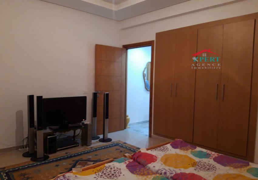 Appartement 45m², Cuisine équipée, Terrasse, Sahloul