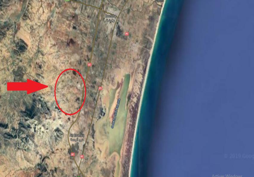 Terrain Sidi Khlifa 3M518