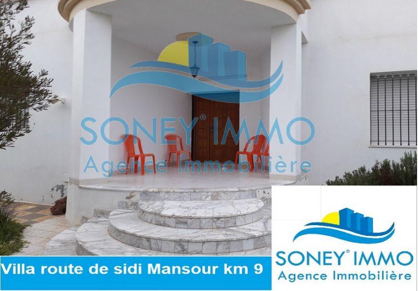 Jolie villa route de sidi mansour km 9