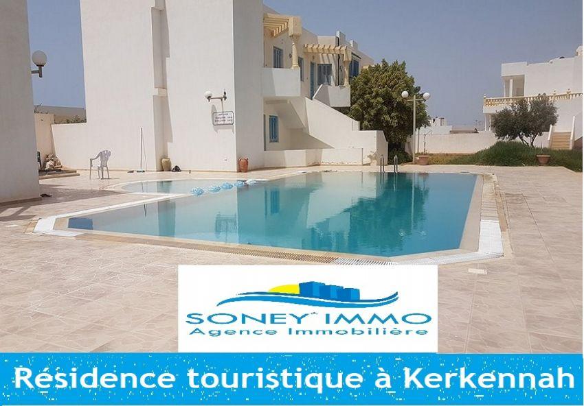Résidence touristique à Kerkennah au bord de la mer