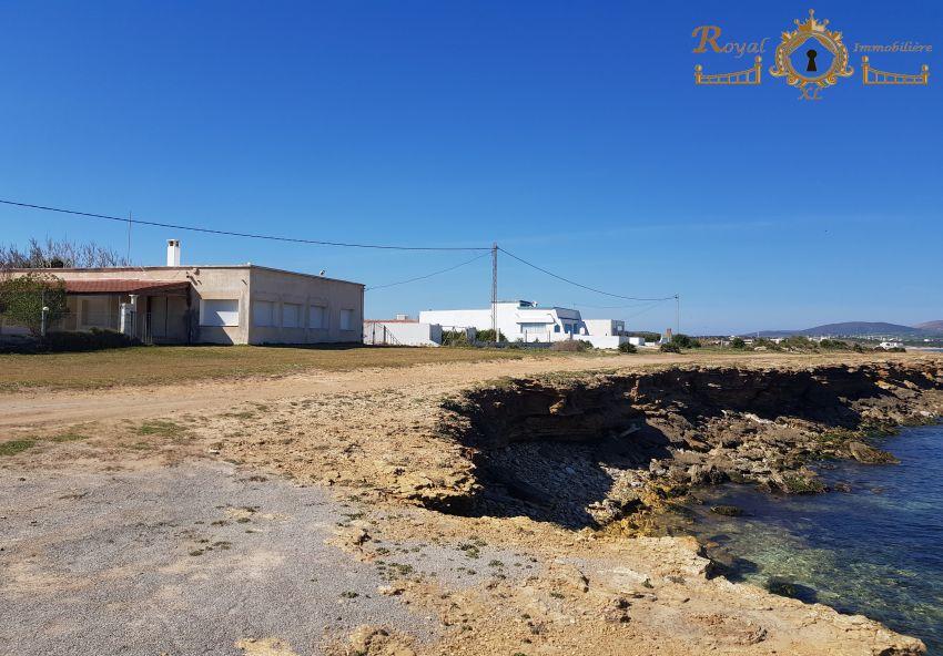 des lots terrains ;; 1ér position de plage de dar allouch