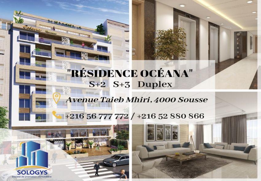 Résidence Océana au cœur du zone touristique de Sousse