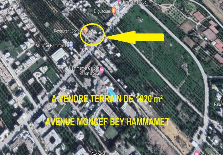 Terrain Hammamet Sud 3M366