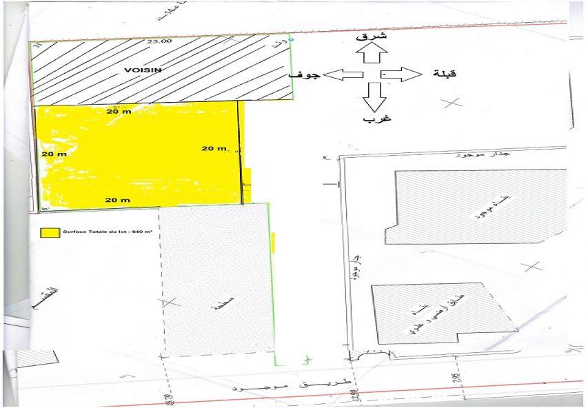Terrain titre foncier route de gabès km 8